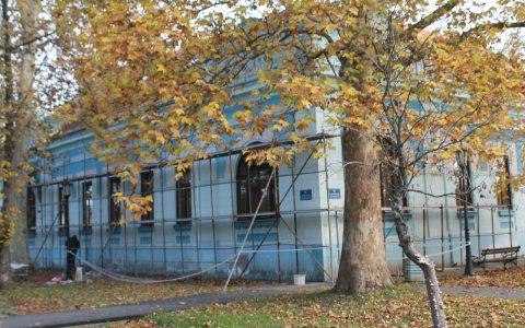 Radovi na fasadi Galerije naivne umetnosti