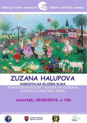 Samostalna izložba slika Zuzane Halupove